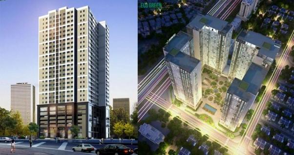 Dự án thang máng cáp-Tòa Eco Green Tower Giáp Nhị