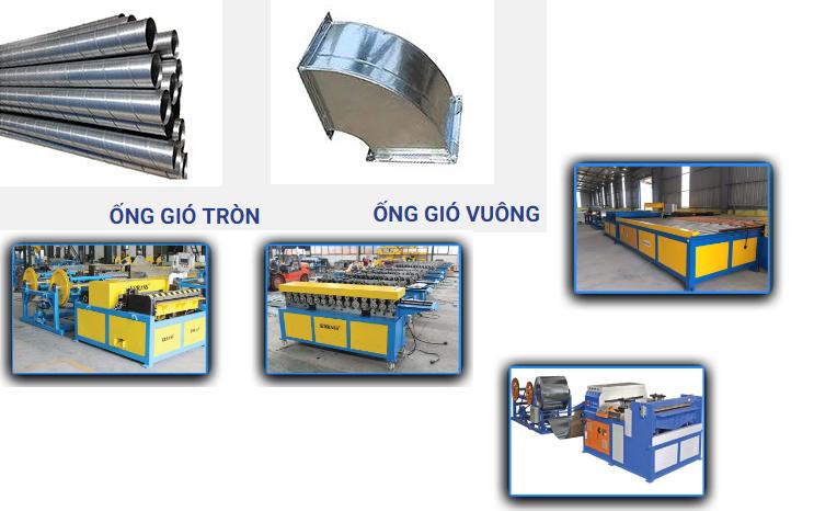 Các thuật ngữ-quy cách-vật liệu ống gió thường sử dụng