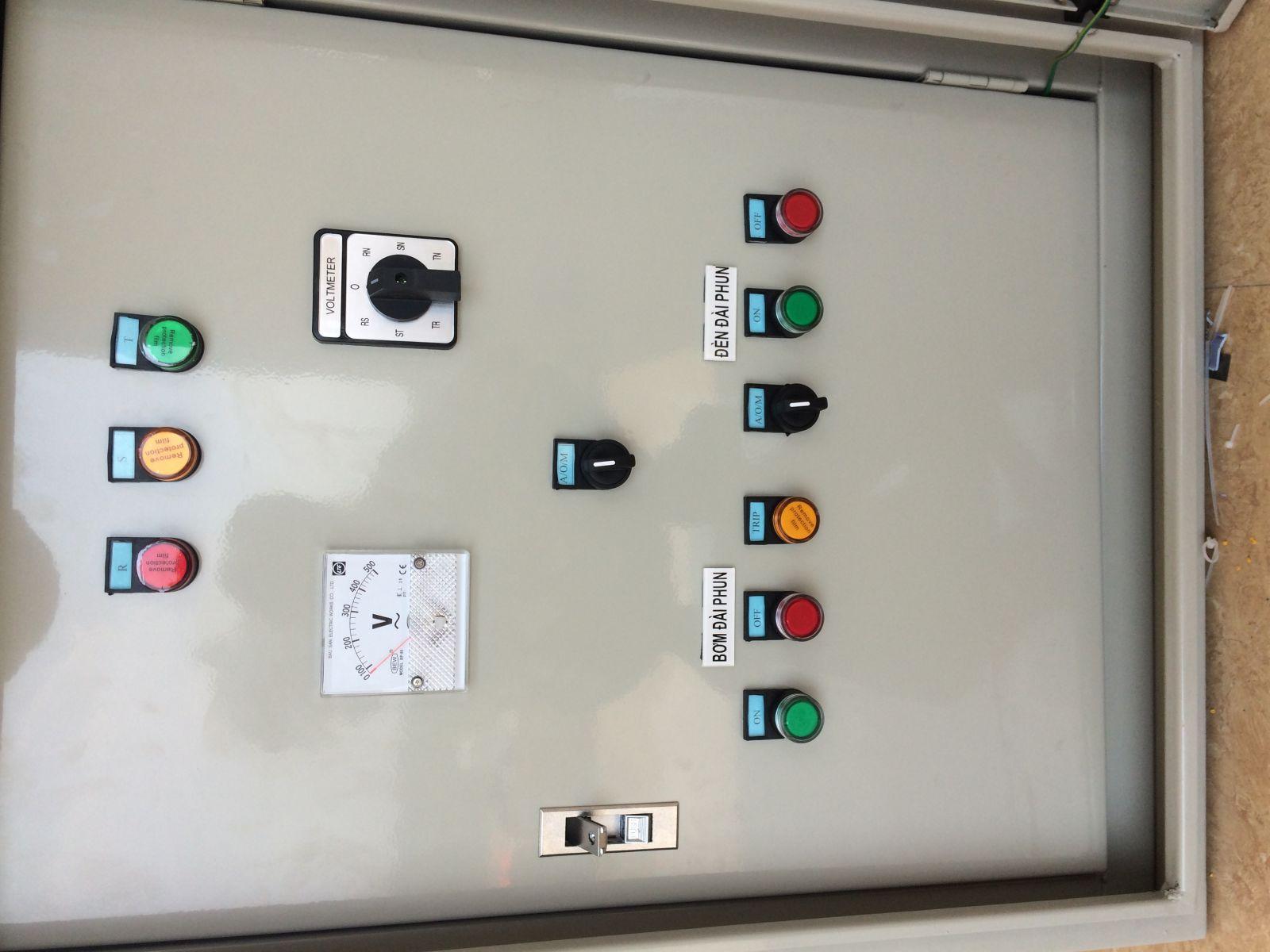 Đặc điểm về tủ điều khiển máy bơm nước