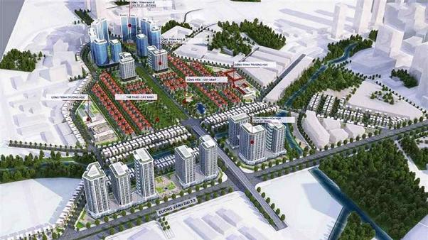 HVC Group tổng thầu cơ điện hạ tầng dự án Khu đô thị Vân Canh - An Lạc