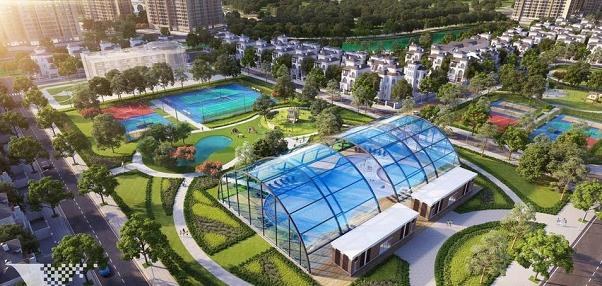 Bể bơi 4 mùa dự án Vinhomes Ocean Park