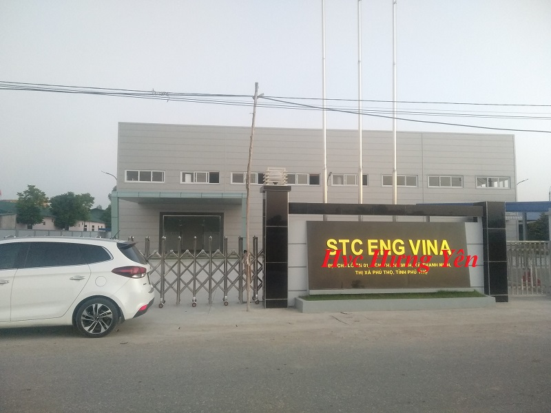Dự án ống gió vuông tại Phú Thọ