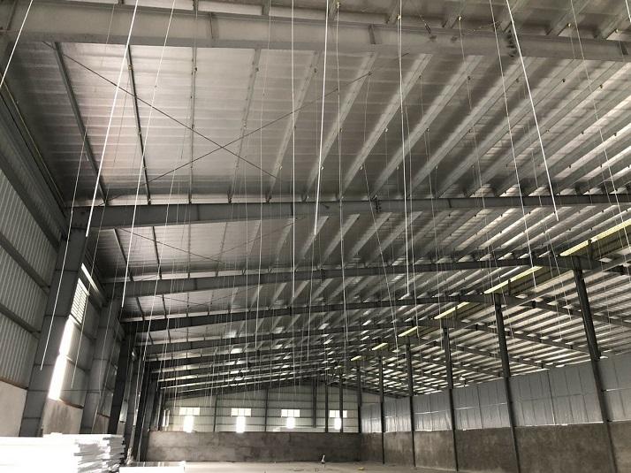 Dự án ống gió tại nhà máy 379, Yên Mỹ, Hưng Yên