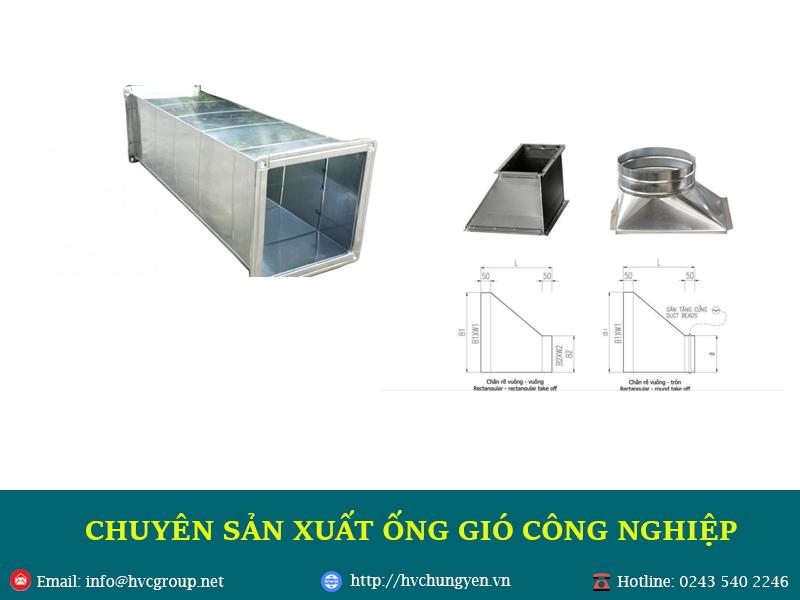 HVC Hưng Yên - Chuyên sản xuất ống gió
