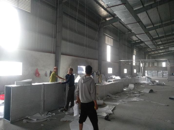 Tổng hợp các dự án HVC Hưng Yên cung cấp hệ thống ống gió
