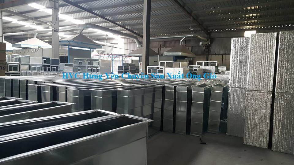 Ống gió-Công Ty TNHH HVC Hưng Yên chuyên sản xuất ống gió chính hãng, uy tín, giá rẻ