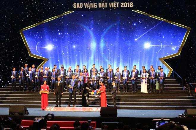 Giải thưởng Sao Vàng Đất Việt dành cho các doanh nghiệp
